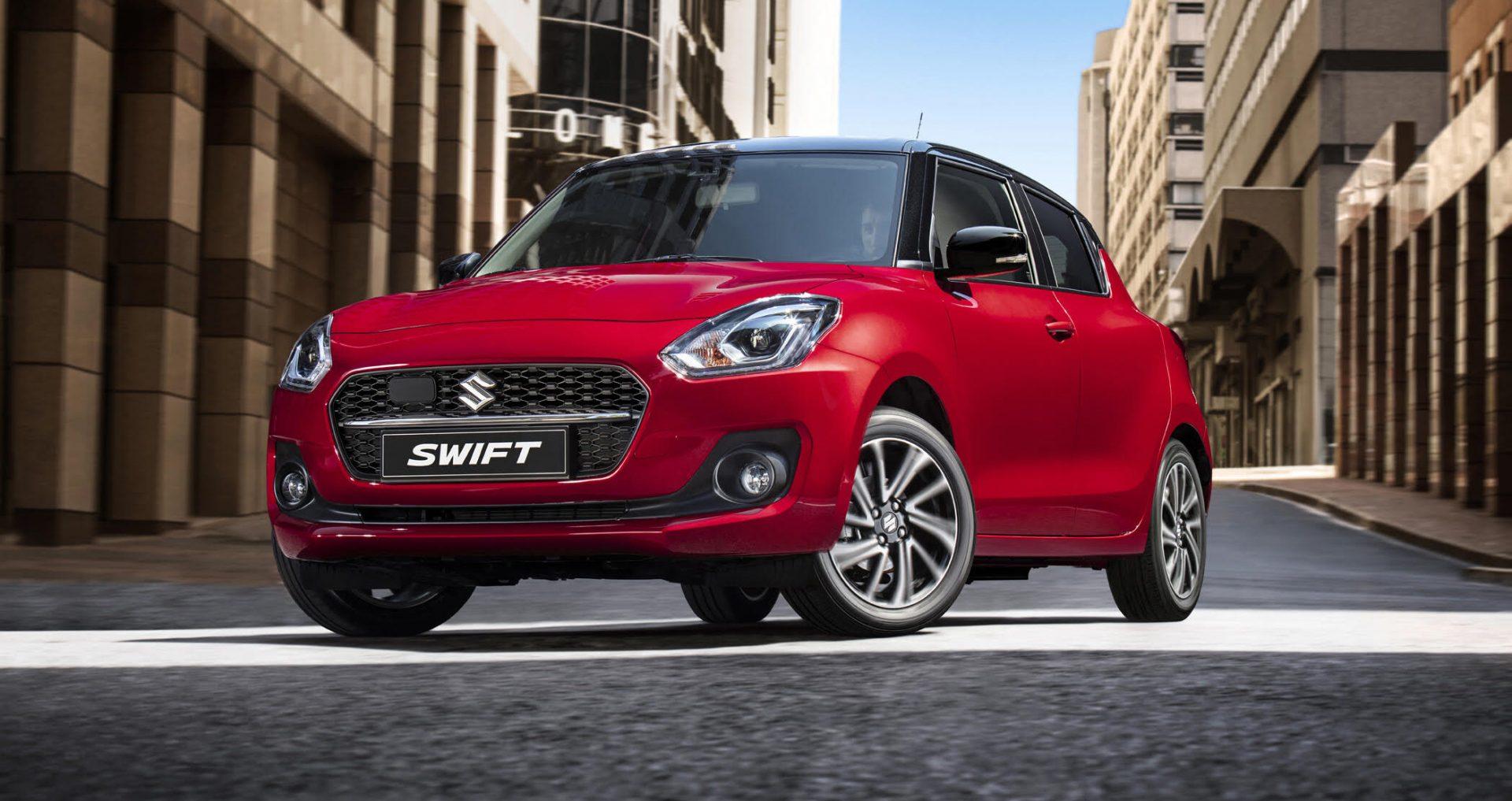 Suzuki Swift Röd