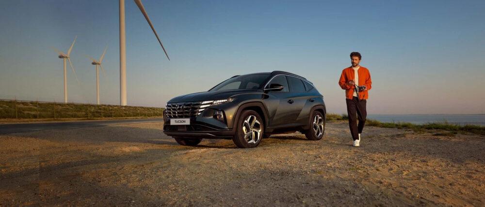 Hyundai Tuscon Miljöbild