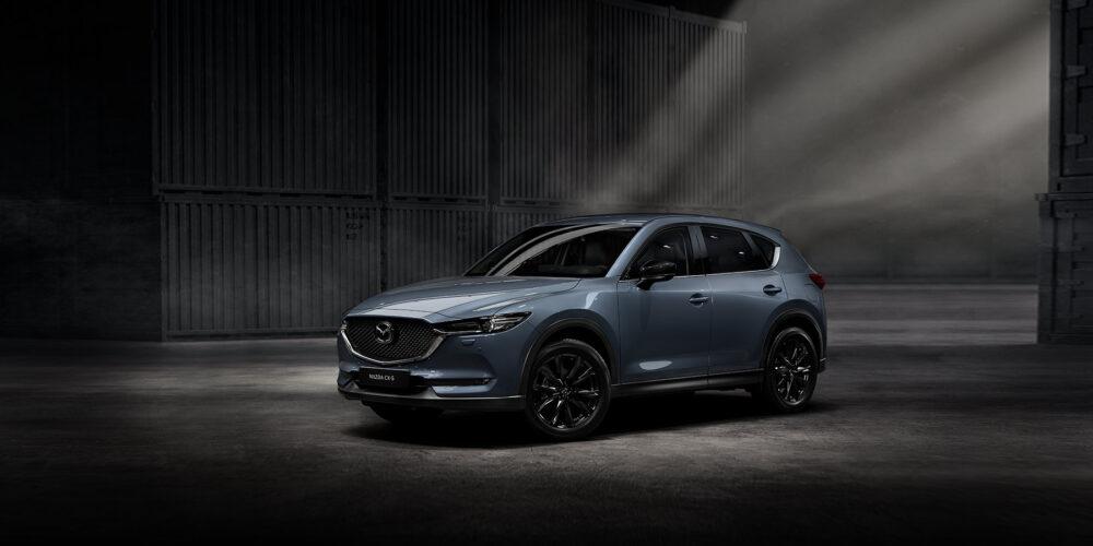 Mazda CX-5 ljusblå