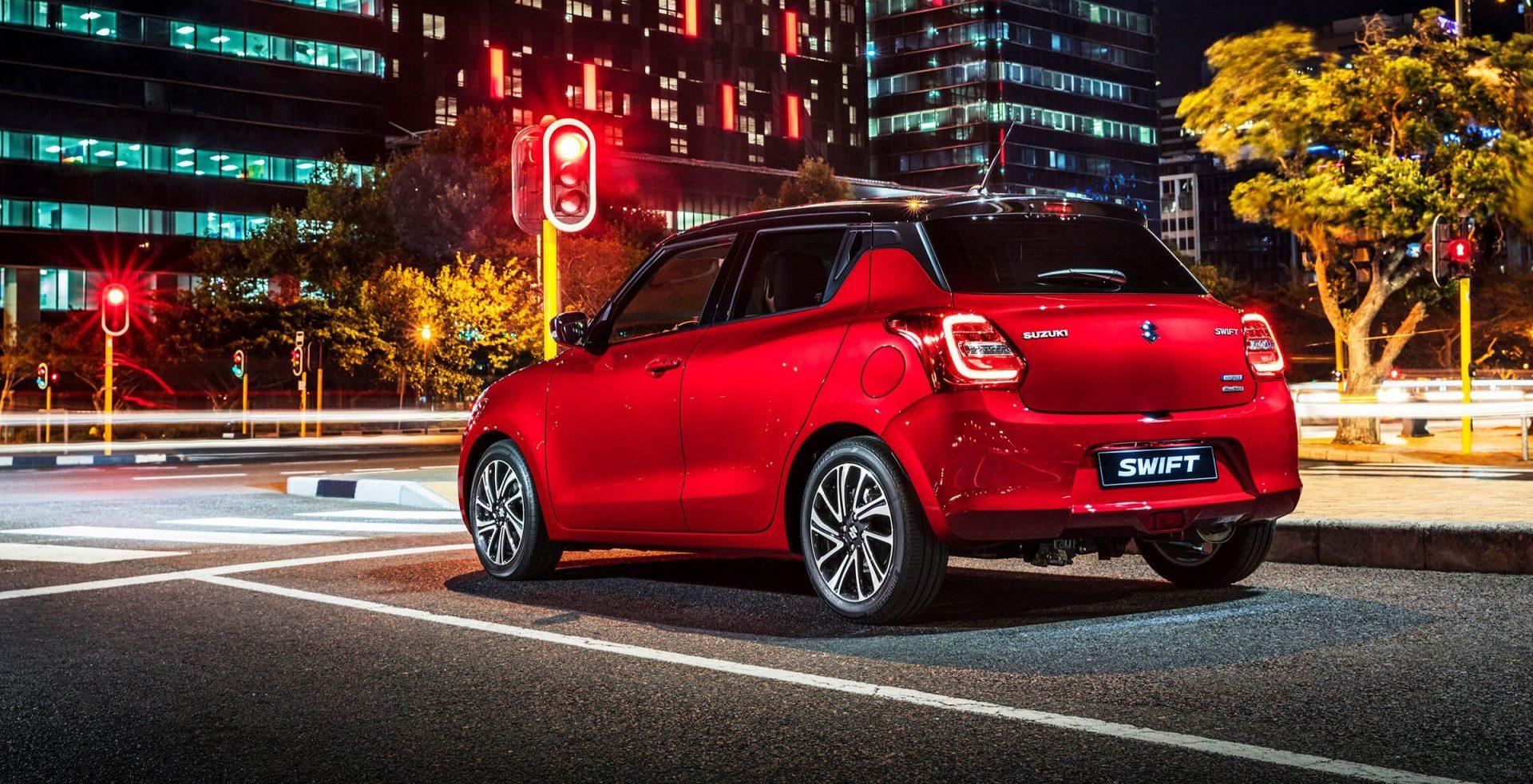 Suzuki Swift Röd (1)
